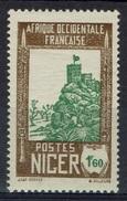 Niger, Zinder, 1f.60, 1939, MH VF - Niger (1921-1944)