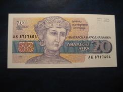 20 Leva 1991 BULGARIA Bulgarie Unused UNC Banknote Billet Billete - Bulgaria
