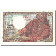 France, 20 Francs, 20 F 1942-1950 ''Pêcheur'', 1949, 1949-03-10, KM:100c, SPL+ - 1871-1952 Circulated During XXth