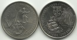 PORTUGAL - 200 ESCUDOS - KM#710 - DISCOVERY OF AFRICA - 1998 - SEE PHOTOS. - Portugal