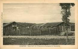 130118 - Après GUERRE  - 54 DOMEVRE Camp Des PG Vue Prise Au Lendemain De L'Armistice - Ruines Bombardement - Domevre En Haye