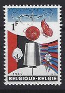 Belgie - Belgique 1313-V  - POSTFRIS - NEUF - Variétés Et Curiosités