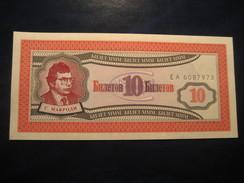 10 ??? Unused UNC Banknote Billet Billete - Billets