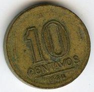Brésil Brazil 10 Centavos 1944 KM 555a.1 - Brazil