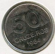 Brésil Brazil 50 Cruzeiros 1984 KM 594.1 - Brazil