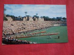 Football Pageantry At Grant Field Atlanta Georgia =ref 2798 - Cartes Postales