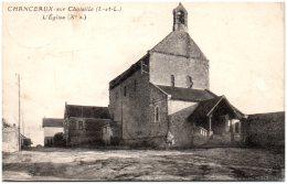 37 CHANCEAUX-sur-CHOISILLE - L'église - Autres Communes