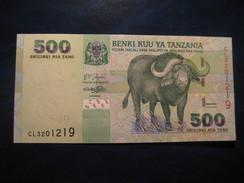500 Shilingi TANZANIA Unused UNC Banknote Billet Billete - Tanzanie