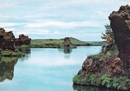 1 AK Island Iceland * Landschaft Am See Mývatn - Dieser See Liegt Im Norden Von Island * - Iceland