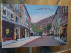 TI - 04 - SISTERON - Rue De Provence - CARTE COLORISEE - Sisteron