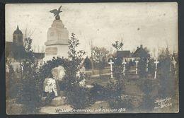 +++ CPA - Photo Carte - Foto Kaart - LEDEGEM - LEDEGHEM - DADIZEELE - 1916 - Guerre Cimetière  // - Ledegem