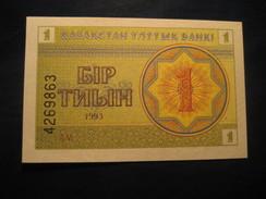 1 Tyin 1993 KAZAKHSTAN Unused UNC Banknote Billet Billete - Kazakhstan