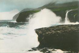 Føroyar 1963; Eiði (Eysturoy). Høgættarbrim Við Molina - Written. (Ásmundur Poulsen) - Faroe Islands