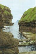 Føroyar; Gjógv (Eysturoy). Lendingin (Landing Place) - Not Circulated. (Ásmundur Poulsen) - Faroe Islands