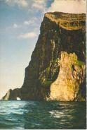 Føroyar 1961; Viðoy, Enniberg. Highest Promontory Europe - Written. (Thule - Klaksvík) - Faroe Islands