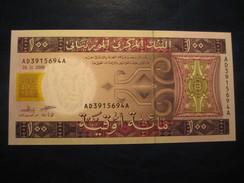 100 Ouguiya 2008 MAURITANIE Mauritania Unused UNC Banknote Billet Billete - Mauritanie