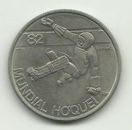 PORTUGAL - 25 ESCUDOS - KM#616  - WORLD ROLLER HOCKEY CHAMPIONSHIP GAMES - COPPER-NICKEL - SEE PHOTOS. - Portugal