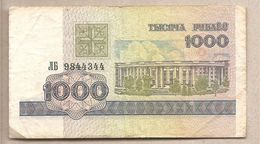 Bielorussia - Banconota Circolata Da 1000 Rubli P-16 - 1998 - Bielorussia