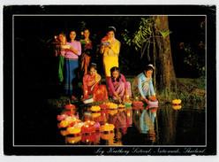 LOY   KRATHONG  FESTIVAL    NATIONUIDE       2  SCAN     (VIAGGIATA) - Tailandia