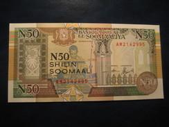 50 Shillings 1990 SOMALIA Somalie Unused UNC Banknote Billet Billete - Somalia