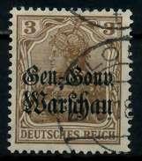 BES 1WK D-POST IN POLEN Nr 7a Gestempelt X776B1E - Besetzungen 1914-18