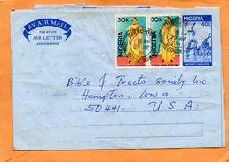 Nigeria Cover Mailed - Nigeria (1961-...)