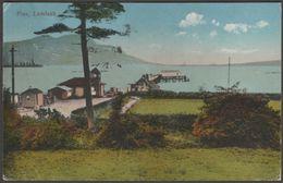 Pier, Lamlash, Arran, 1920 - Postcard - Bute
