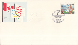 Canada - XXIe Olympiade. Montreal 1976 - 17 Juli 1976 - Relais De La Flamme/Flame Relay - M 631 - Estate 1976: Montreal