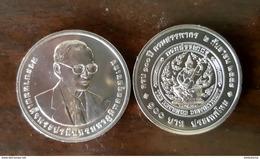Thailand Coin 100 Baht 2015 100th The Revenue Department - Thailand