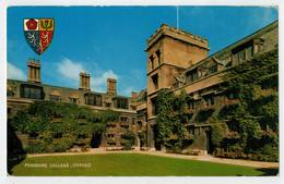 OXFORD    PEMBROKE  COLLEGE                2  SCAN     (VIAGGIATA) - Oxford