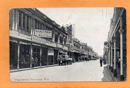 Fremantle WA Australia 1910 Postcard - Fremantle