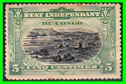 CONGO  BELGE  SELLO AÑO 1909  Port Matadi - République Démocratique Du Congo (1964-71)