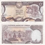 Cyprus - 1 Pound 1.03. 1993 VF Lemberg-Zp - Chypre