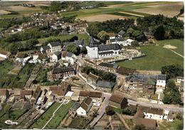 """Beauvechain - Tourinnes-la-Grosse (1320) : Camping """" Au Val Tourinnes"""" - Panorama Aérien Du Village. CPSM. - Bevekom"""