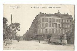 TOUILON , BOULEVARD TESSE ET HOTEL TERMINUS - Toulon