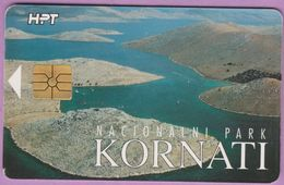 Télécarte Croatie °° HTP 100 Impulsa - Kornati RV - Croatie