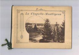 61 - LA CHAPELLE-MONTLIGEON 24 Gravures - Reiseprospekte