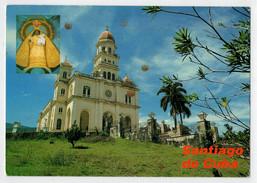 CUBA       SANTIAGO  DE   CUBA    IGLESIA  DE LA  CARIDAD DEL  COBRE       2  SCAN     (VIAGGIATA) - Cuba