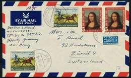 BRD 1952 Nr 148II Und 160 BRIEF MIF X78B57A - Briefe U. Dokumente