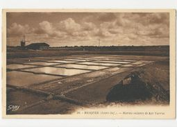 44 MESQUER - Marais Salants De Ker Varrin - Cpa Loire Atlantique - Mesquer Quimiac