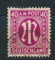 Duitsland/Germany All. Bezetting/ All Occupation Bizone 1945 Mi: 30c Cz (Gebr/used/obl/o)(3060) - Zona Anglo-Americana