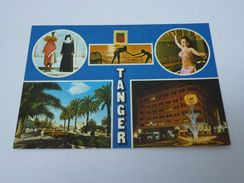 A-1156, Postcard, Tanger - Multiview - Tanger