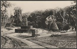Ornamental Walk, Peradeniya Gardens, Ceylon, C.1920s - Plâté RP Postcard - Sri Lanka (Ceylon)