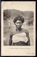 CENTRAFRIQUE - Femme MANDJIA, Coiffure De Fête - Centrafricaine (République)