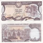 Cyprus - 1 Pound 1.11. 1989 VF Lemberg-Zp - Cyprus