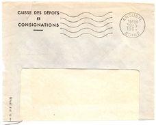 SEINE - Dépt N° 75 = ARCUEIL 1964 = FLAMME Non Codée = SECAP Muette '5 Lignes Ondulées' - Postmark Collection (Covers)