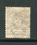 LUXEMBOURG- Y&T N°42- Oblitéré - 1859-1880 Wappen & Heraldik