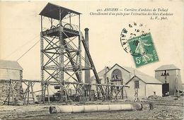 - Dpts Div.-ref-XX105- Maine Et Loire - Trelaze - Carrieres D Ardoises - Puits D Extraction Des Ardoises - Carriere - - France