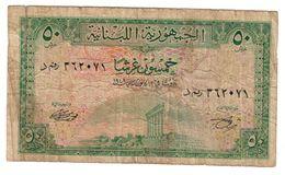 Lebanon 50 Piastres 1948 - Lebanon