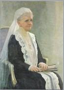 NL.- APELDOORN. RIJKSMUSEUM PALEIS HET LOO. KONINGIN EMMA POSTHUUM IN 1935 DOOR JAN C.A. GOEDHART. KANTKLOS - Beroemde Vrouwen
